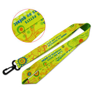 Dye-subliHigh Quality Dye Sublimation Custom Lanyardsmated Lanyards
